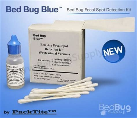bed bug kits bed bug blue fecal matter test kit