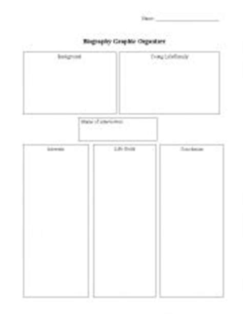biography graphic organizer esl english worksheets biography graphic organizer