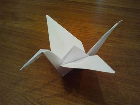 Origami With Regular Paper - how to make a paper crane origami