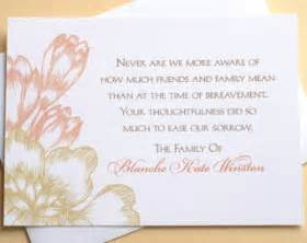 thank you card interesting personalized funeral thank you cards for funeral thank you memorial