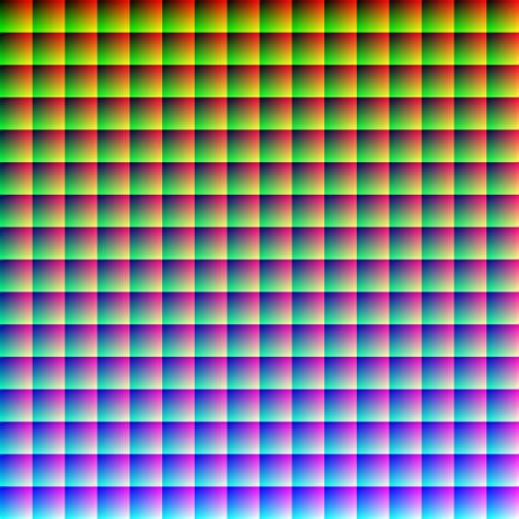 24 bit color image analyzer