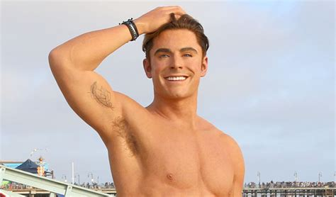 Zac Efron Also Search For Zac Efron Has A Shirtless Wax Figure It Visited The Electra
