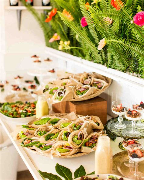 bridal shower foods 20 delicious bites to serve at your bridal shower martha
