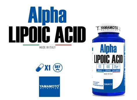 acido alfa lipoico alimenti alpha lipoic acid di yamamoto nutrition 100 cps