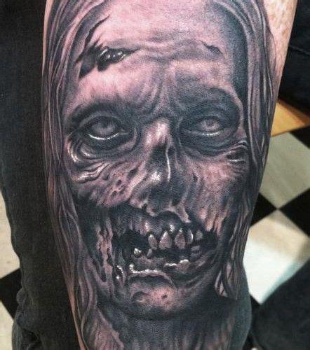 tattoo neck girl walking dead 123 best zombie tattoos images on pinterest zombie