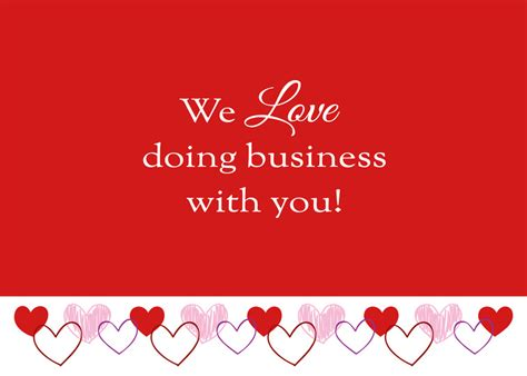 business valentine s day card cards for causes