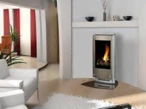 Contemporary Ventless Gas Fireplace Bloombety Modern Ventless Gas Fireplaces With White Seat