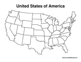 united states blank map worksheet teaching