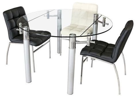 Glass Extendable Dining Table 39 Modern Glass Dining Room Table Ideas Table Decorating Ideas