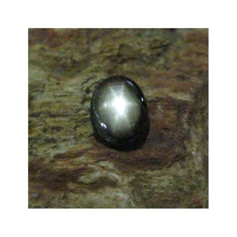 Black Sapphire 1 batu mulia black sapphire 1 85 carat luster bagus