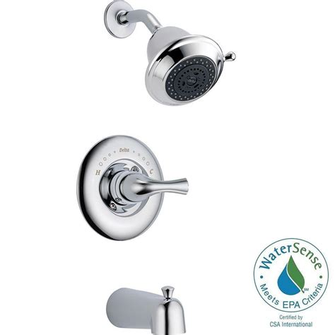 Delta Three Handle Shower Faucet Repair by Delta Classic Single Handle 3 Spray Tub And Shower Faucet