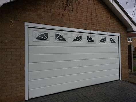 New Garage New Garage Door With Windows Grantham Garage Door