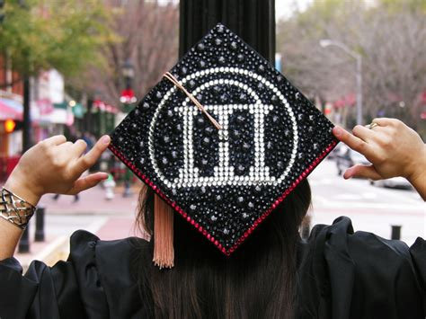 How To Decorate Cap And Gown by Decorated Graduation Cap From Uga Athens