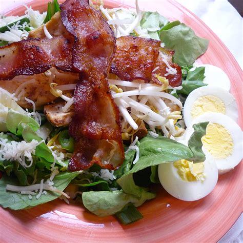 Fast Easy Dinner Salad With Saganaki by Dinner Idea The Bacon Dinner Salad Foodwhirl