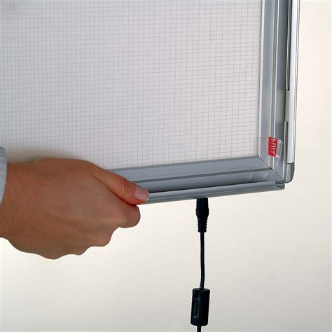 hanging light box display smart led light box display hanging graphic hardware