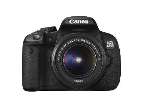 Lensa Kamera Canon Eos 650d canon eos 650d ramaikan pasar kamera dslr indonesia