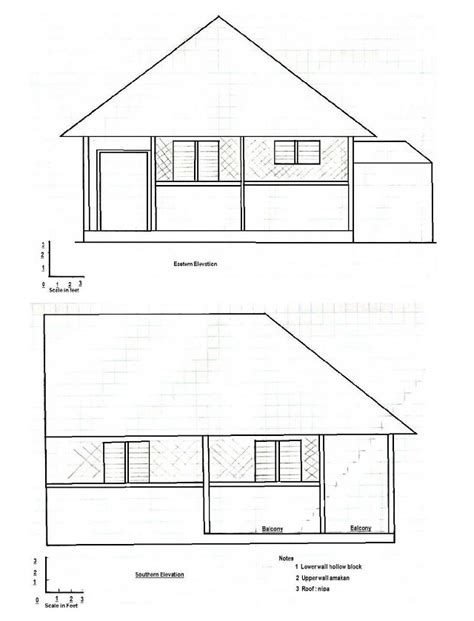 bahay kubo design and floor plan a step by step guide in building bahay kubo balay ph