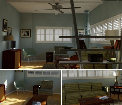 layout of dexter s apartment pin by full sail university on student work pinterest