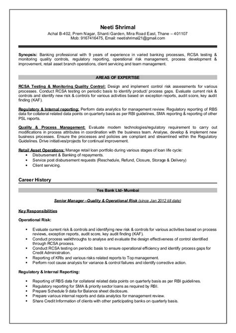 regulatory reporting resume resume ideas
