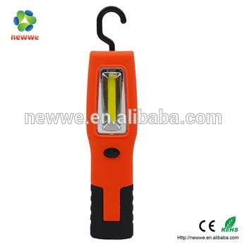 blue point rechargeable led light product cob led blue point flashlight