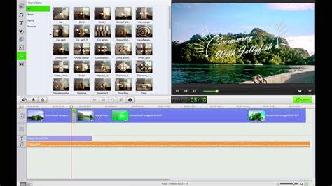 tutorial edit video dengan wondershare filmora filmora video editor how to make edit and produce