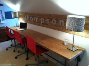 Chunky Dining Room Table by Reclaimed Wood Desks And Home Office Furntiure Modern