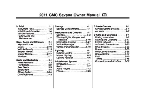 free service manuals online 2006 gmc savana 1500 lane departure warning service manual pdf 2011 gmc savana repair manual 2007 gmc savana owner manual pdfsr com