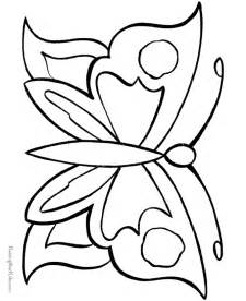 coloring page butterfly free coloring pages of outline of a butterfly