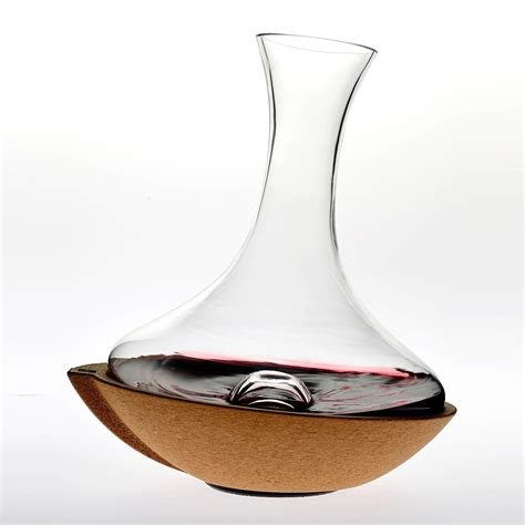 Vacu Vin Swirling Wine Decanter   So That's Cool