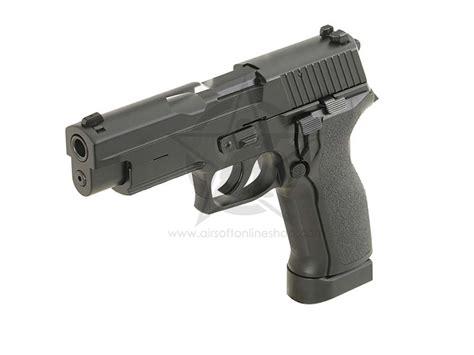 kjw co2 sig sauer p226 metal kp 01 e2 gbb airsoft pistol airsoft guns shop