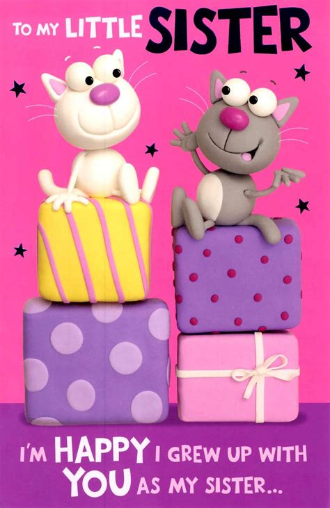 Happy Birthday Card For Younger Happy Birthday Wishes For Sister Images And Pictures Share Birthday Pinterest