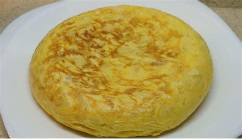 recetas de cocina tortilla de patatas tortilla de patatas con thermomix recetas en la mochila