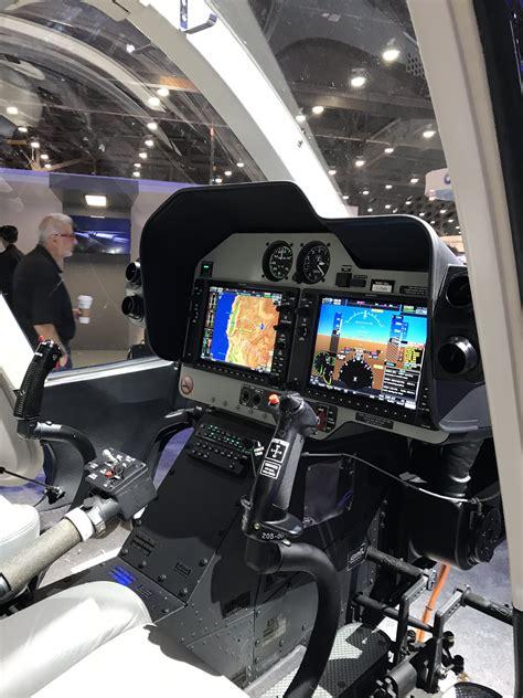 bell gxi cockpit  heli expo  vertical flight