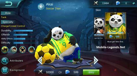 Mobile Legends Akai 2 akai features mobile legends