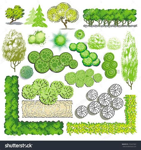 Landscape Design Vectors 71 Best Images About Architecture Landscape Plan View On
