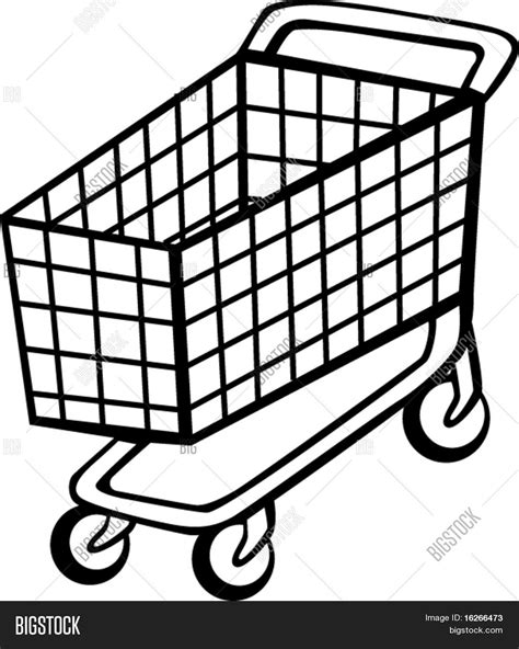 shopping cart stock vector stock photos bigstock