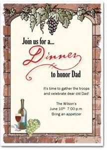 printable dinner invitation template