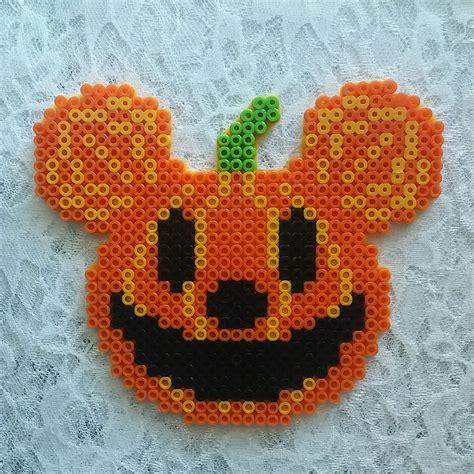 jumbo perler large perler bead mickey pumpkin by