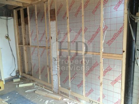 Garage Conversion Floor Construction by Before And After Photos Building Project Construction