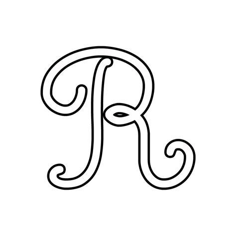 lettere in corsivo da copiare lettere e numeri lettera r corsivo maiuscolo