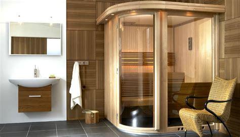 bagno sauna sauna e bagno turco la casa diventa centro di benessere