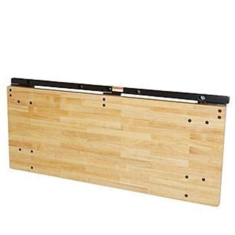 wall mounted folding work bench folding workbench wall mounted diy projects pinterest