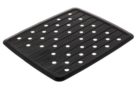 camco rv and marine sink mat black camco rv kitchen cam43721