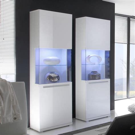 vitrinenschrank modern wohnzimmer vitrine wei 223 downshoredrift