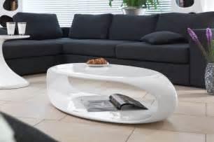 Couchtisch Design by Salesfever Couchtisch Tsugua Hochglanz Wei 223 Kaufen Otto