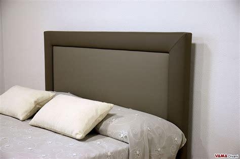 spalliera per letto testate letto imbottite per letti senza testiera e su misura