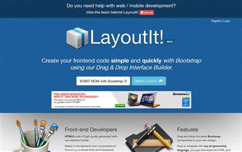 bootstrap layout editor open source 25 best bootstrap editors builders 187 css author