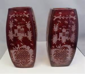 Kalung Boho Segitiga Ruby 35 Ct antique ruby glass got free shipping us