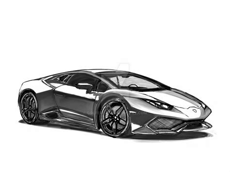 Sketch Lamborghini Huracan By Golferpat On Deviantart