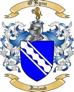 kyan meaning of name kyan nameberry o kyan family crest from ireland by the tree maker